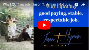 Why I quit my good good paying, stable, respectable job…