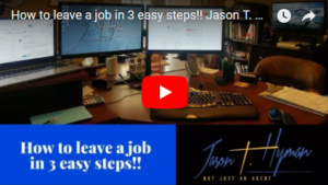 How to leave a job in 3 easy steps!!