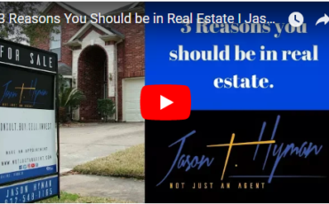 3 reasons why you should be in real estate.