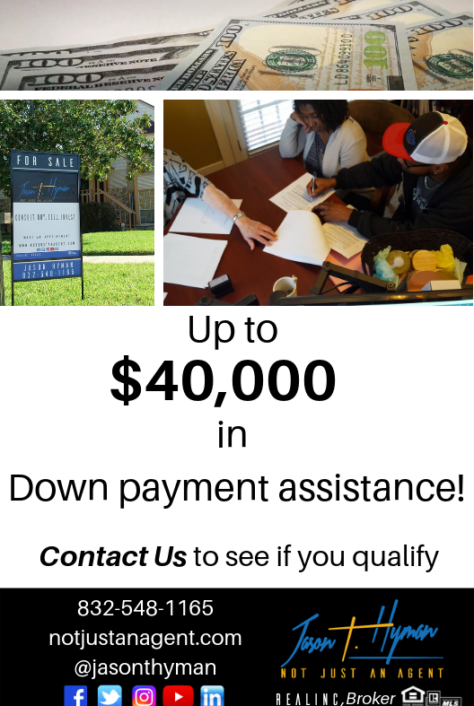Up to $40k in down payment assistance!