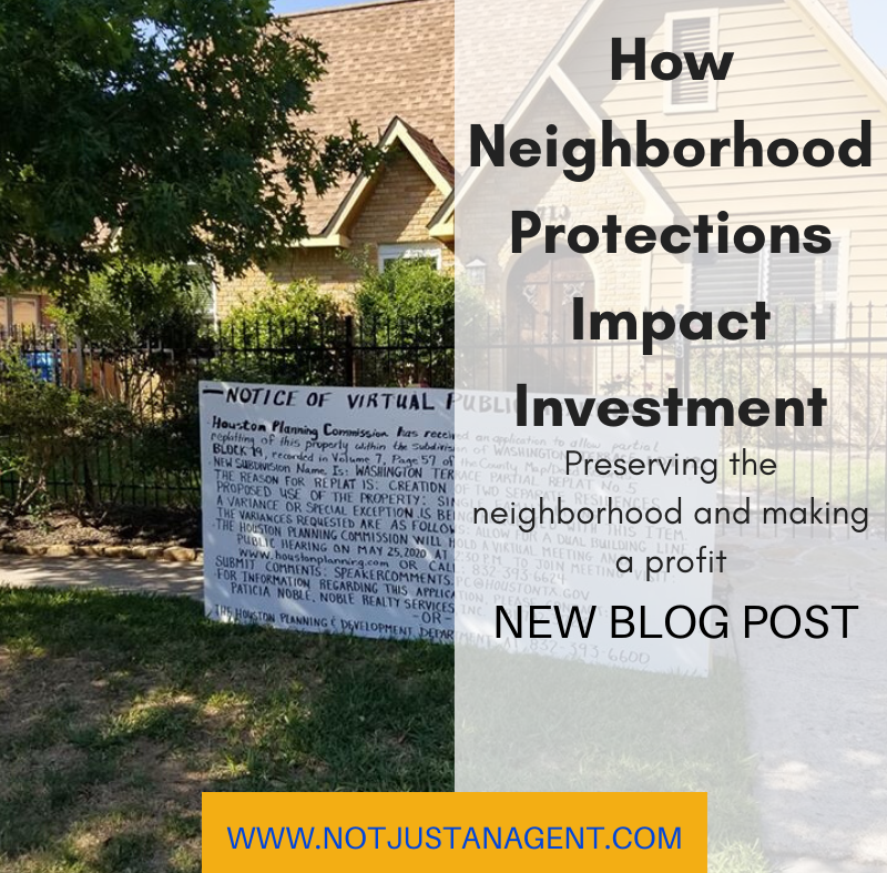 How Neighborhood Protections Impact Investment